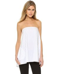 Timo Weiland - Olivia Strapless Top With Pockets - Lyst