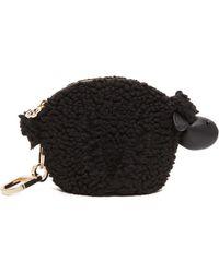 Tory Burch Steve The Sheep Pouch Bag Charm - Black