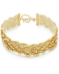 Vanessa Mooney - The Fire Tiger Choker Necklace - Lyst