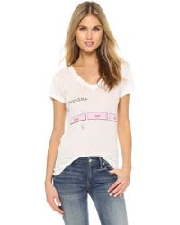 Wildfox - Monday Tee - Lyst