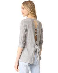 Wilt - Open Back Pullover - Lyst