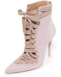 Zimmermann - Lace Up Ankle Booties - Lyst