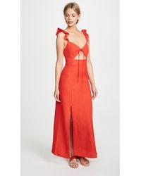 Capulet Nia Maxi Dress - Red
