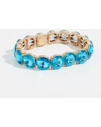 BaubleBar - Large Crystal Statement Bracelet - Lyst