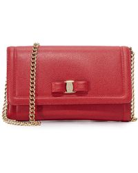 Ferragamo - Miss Vara Cross Body Bag - Lyst