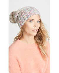 Hat Attack - Multi Tweed Slouchy Hat - Lyst
