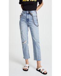 Ksubi - Chlo Wasted Straight Leg Jeans - Lyst