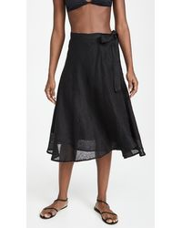 Vitamin A Lana Skirt - Black