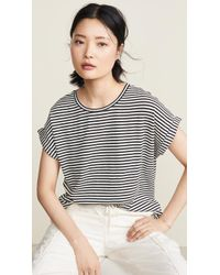 Closed Light Knit Stripe Tee - Multicolor