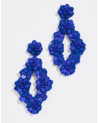 BaubleBar - Tulipa Sequin Drop Earrings - Lyst