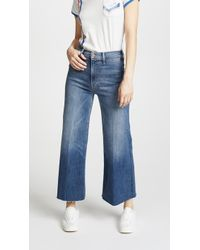 Mother - The Swooner Roller Jeans - Lyst