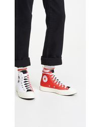 Converse Chuck 70 Logo Play High Top Sneakers - White