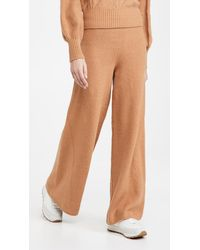 STAUD Mitch Trousers - Brown