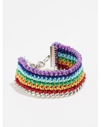 Venessa Arizaga - Chasing Rainbow Bracelet - Lyst