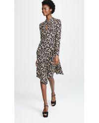Roberto Cavalli - Knit Leopard Dress - Lyst