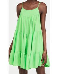 9seed Isla Del Sol Dress - Green