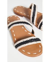 Carrie Forbes Asymmetrical Slides - Multicolour