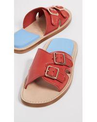 d831de743126 Lyst - Women s Acne Studios Flat sandals On Sale