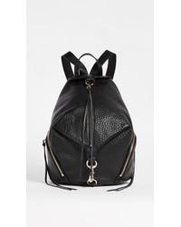 Rebecca Minkoff Convertible Mini Julian Backpack Backpack Bags - Black
