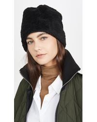 Hat Attack Teddy Hat - Black