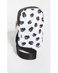 Alice + Olivia Jena Phone Crossbody Bag - Black