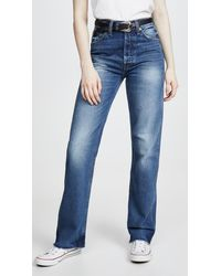 RE/DONE High Rise Jeans - Blue