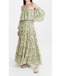 MISA Los Angles Cassandra Dress - Green
