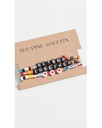 Roxanne Assoulin Better Together Camp Bracelets - Multicolor