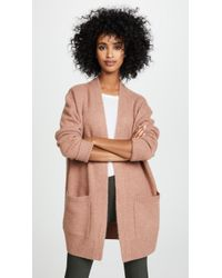 Vince - Boiled Cashmere Cardigan - Lyst