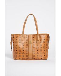 MCM Reversible Shopper Tote - Brown