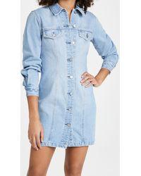 Nobody Denim Gallant Dress - Blue