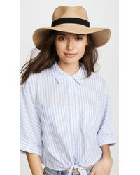 fab589705cb Madewell - Packable Mesa Straw Hat - Lyst