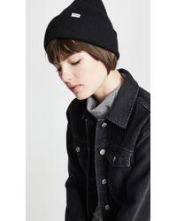 Madewell Cuffed Cosy Knit Beanie - Black