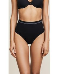 Yummie By Heather Thomson Shaping Thong - Black