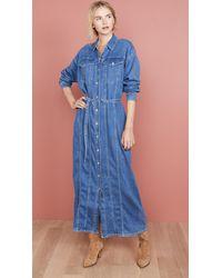 3x1 Tessa Dress - Blue