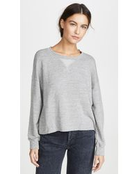 Splendid Marathon Sweatshirt - Grey