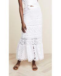 Temptation Positano - Andamane Long Skirt - Lyst