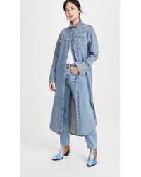 Wrangler Western Shirtdress - Blue
