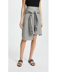 Edition10 - Plaid Skirt - Lyst