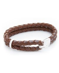 Miansai | Beacon Leather Bracelet | Lyst