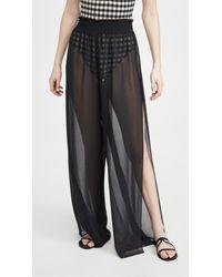 Ramy Brook Athena Trousers - Black