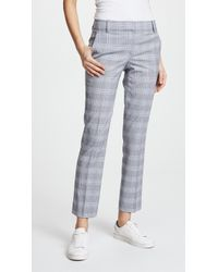 Theory - Straight Trousers - Lyst