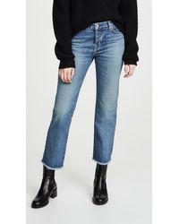 Nili Lotan Boyfriend Jeans - Blue