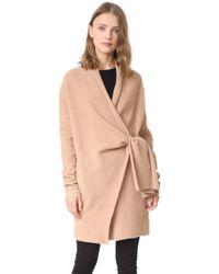 Brochu Walker Savannah Wrap Coat - Multicolour