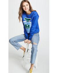 Michaela Buerger I Love Paris Sweatshirt - Blue