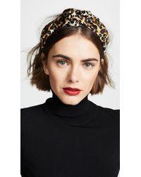 Jennifer Behr Fiona Headband - Black
