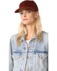 Madewell - Corduroy Baseball Hat - Lyst