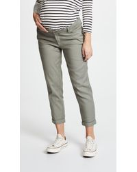 HATCH | Boyfriend Twill Trousers | Lyst
