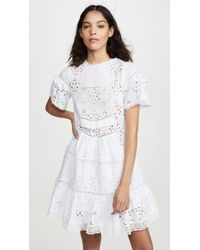 Sea - Zinnia Short Sleeve Tunic Dress - Lyst