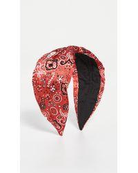 NAMJOSH Bandana Headband - Red